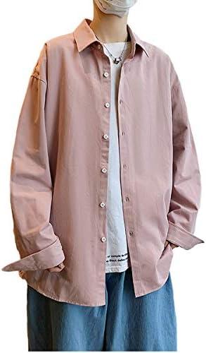 メンズ シャツ カジュアル 半袖 綿100% シャツ 春 無地 長袖 ワイシャツ大きいサイズ ボタン付き メンズ シャツ 柔らかい 吸汗速乾 通気性 夏