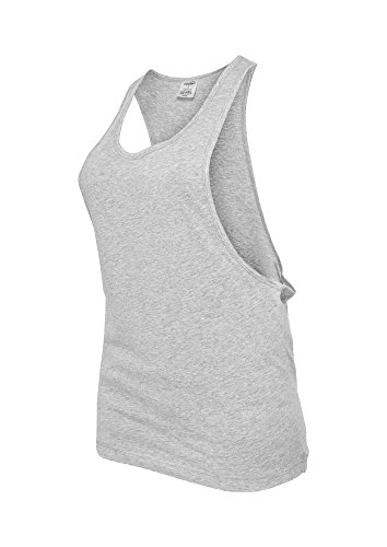 Ladies Loose Tank grey S