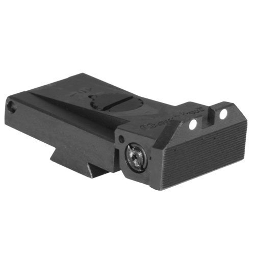LPA TRT 1911 Kensight Sight White Dot with Beveled - Sight Rear 1911