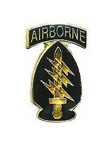 (US Army Airborne Special Forces SF Lapel Pin Hat Tie Tac Brass CHN)