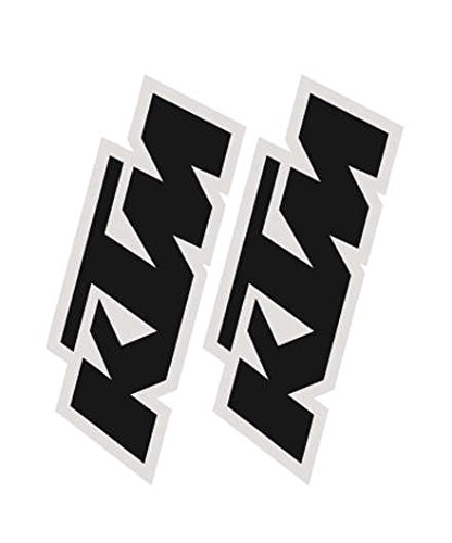 (Factory Effex 19-44500 Black Universal Fork/Swing Arm Sticker)