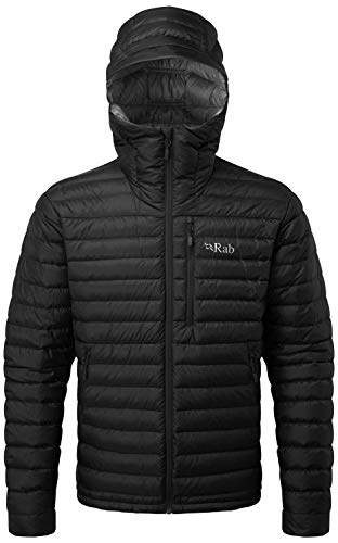 RAB Microlight Alpine Jacket - Men's Black/Shark - Mens Jacket Alpine Wind