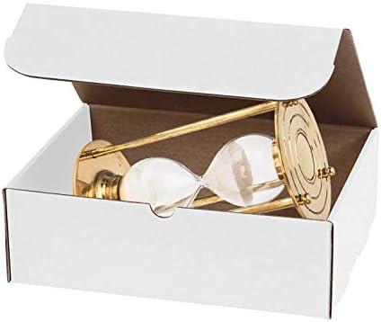 Amiff - Mailers de cartón corrugado (11,125 x 8,75 x 3 cm, 11 1/8 x