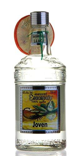 ESCORPION Mezcal SILVER / JOVEN mit echtem Skorpion (1 x 700ml)