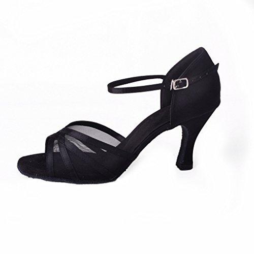 Zapatos negros Foo Fighters formales para mujer ecmpf6Sb