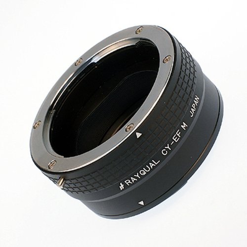 Rayqual Cy-efm Mount Adapter to Canon EOS M Body(made in Japan)