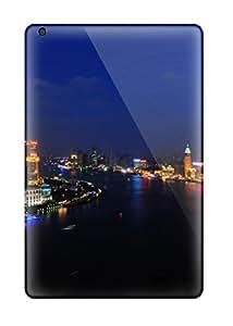 Laura Chris's Shop New Style Pretty Ipad Mini 3 Case Cover/ Shanghai Huangpu River Series High Quality Case