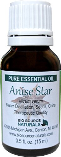 Anise Star (Illicium verum) Pure Essential Oil 30 ml /1.0 oz - Therapeutic Quality, 100% Pure, Undiluted, Concentrated