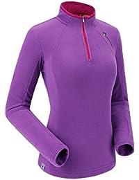 """<span class=""""a-offscreen"""">[Sponsored]</span>Women's Fleece Jacket Lightweight 1/3 Zip Pullover Fashion Sweater Shirt Outdoor Long Sleeve Shirt"""