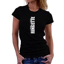 Teeburon Ringette DEDICATION Ringette Women T-Shirt