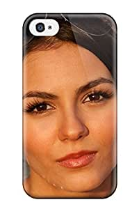 Iphone High Quality Tpu Case/ Victoria Justice WgzkDek12670ZShNP Case Cover For Iphone 4/4s