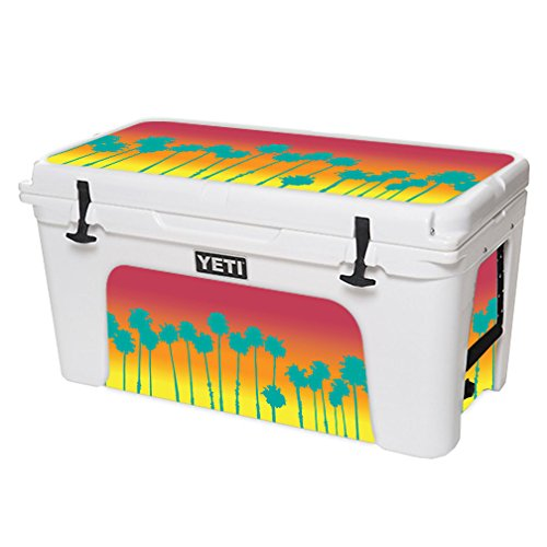 数量は多い  MightySkins Palms Protective Vinyl Skin Decal for wrap YETI Skins Tundra 75 qt Cooler wrap Cover Sticker Skins Sherbet Palms B07HYXBM1C, ネット レンタル シェリィ:e086077f --- a0267596.xsph.ru