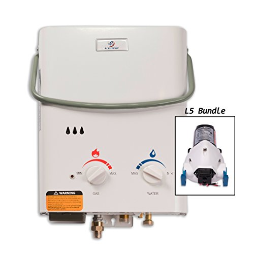 Eccotemp L5 Tankless Water Heater with Flojet Pump by Eccotemp Systems