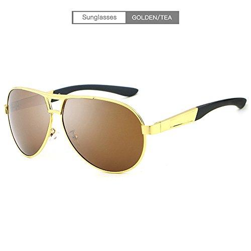 C gafas con hombre libre sol hombre sol sol Gafas al aire de Gafas Gafas de polarizadas gafas y tendencia protección de conducción de UV de de Gafas E sol sol RFVBNM mujer ZavAqB