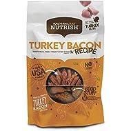 Rachael Ray Nutrish Turkey Bacon Recipe Dog Treats, 12 Ounces, Grain Free