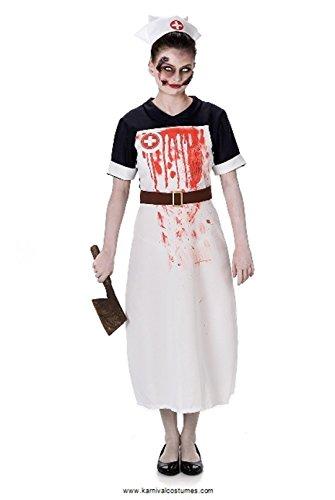 Karnival Zombie Nurse Costume - Bloody Nurse Outfit,