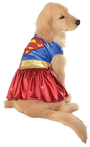 Halloween Costumes Item - Cat & Dog Costume Supergirl Medium (Supergirl Dog Costume)