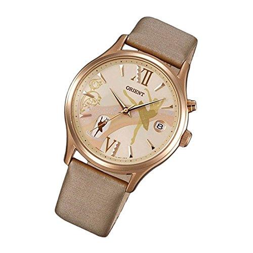 Orient bailarina mujer reloj de pulsera Happy Stream Fecha Cuero Automático Reloj fdm0 1001y: Amazon.es: Relojes