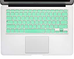 Kuzy - Mint GREEN Keyboard Cover Silicone Skin for MacBook Pro 13\
