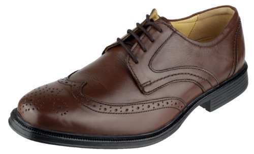 Oxford Leather Up Shoe Premium Cotswold Cotswold Brown Mickleton Mens Leather Brown Lace wA70vp7q