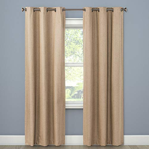 Eclipse Windsor Light Blocking Curtain Panel - Mushroom, 42