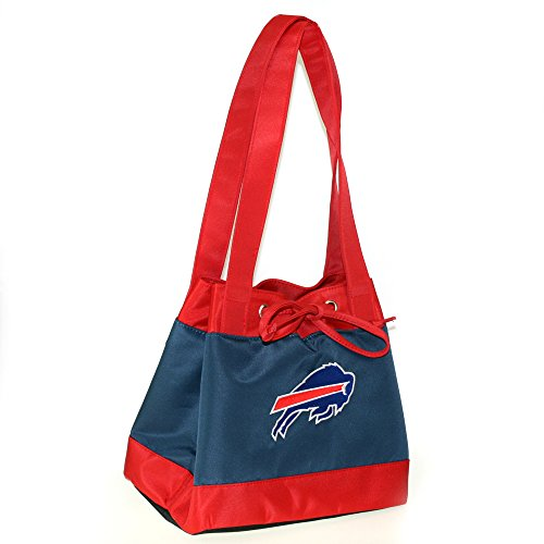 NFL Buffalo Bills Womens Fashion Insulated Lunch Tote with Embroidered Logo by Little Earth