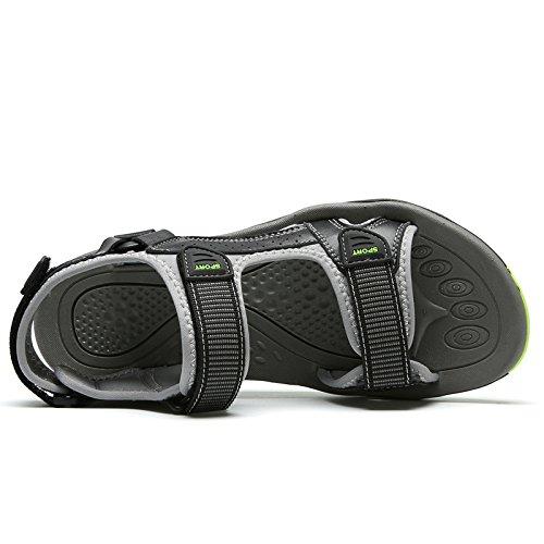 Brun Noir Hommes Été Eau Velcro Randonnée Plein Respirant En Sandales Sport Café Marche Noir Air Garçons Chaussures Et SqBwTS1rZ