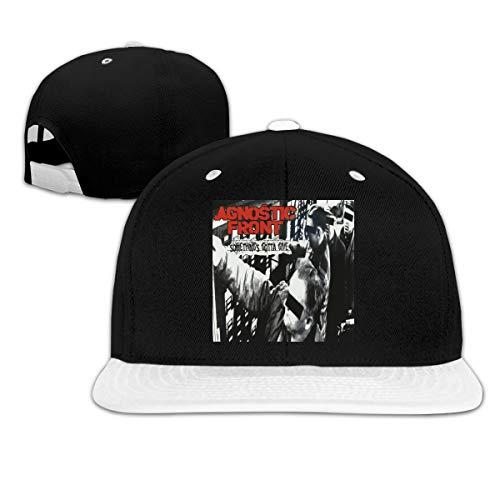 BobBThorpe Unisex Agnostic Front Something's Gotta Give Music Theme Hat Sports Baseball Cap,Sun Hat,dad Hat