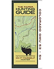 Colorado GMU's 53-54 Hunting Map