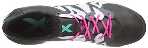 Adidas X 15.1 Fg / Ag Heren Voetbalschoenen Voetbal Klampen Zwart Wit S78175