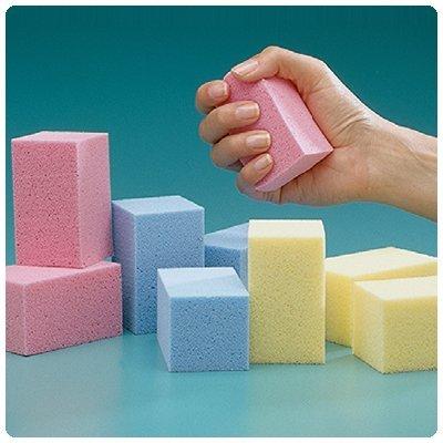 Sammons Preston Temper Foam R-Lite Blocks, Variety Pack, 12 Count