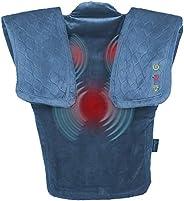 Massage Vibration Wrap with Subtle Heat | Adjustable Intensity, Soft Fabric | Heated Shoulder Massage, Relieve