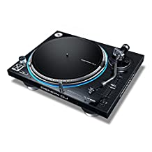 Denon DJ VL12 PRIME | Professional Turntable with True Quartz Lock & RGB LED Light Ring