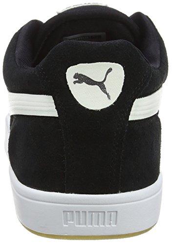Sneakers In Pelle Scamosciata Uomo Puma, Nero (nero-bianco 03), 40,5 Eu (7 Uk)