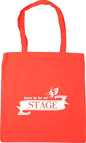 10 HippoWarehouse Gym Bag Beach Stage 42cm to Coral x38cm On Tote Be Shopping litres Born T7rwfT