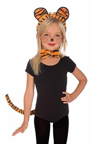 Child Tiger Kit (Plush Tiger Child Costume Kit)