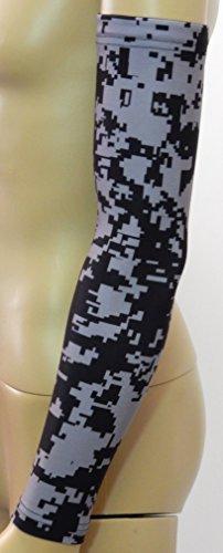 NEW! Sports Farm - Black & Gray Digital Camo Arm Sleeve