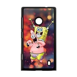 DIY Cute Spongebob Squarepants Custom Case Shell Cover for Nokia Lumia 520