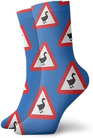 Goose GameWaarschuwing Goose Sokken Klassieke Sport Korte Sokken 30cm118inch Geschikt voor Mannen Vrouwen