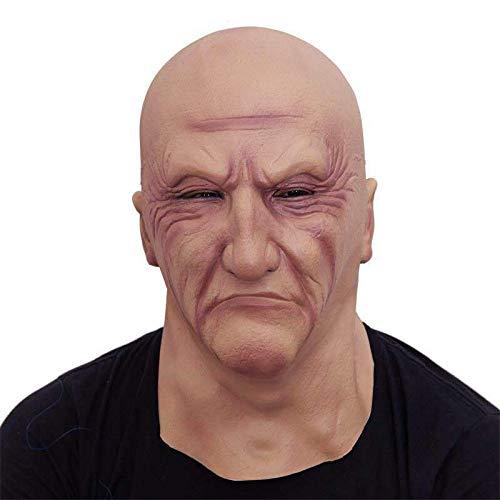 Ariestorm Halloween Mask Latex Head Gangster Play Gruesome Costume Cosplay Props Horrible by Ariestorm