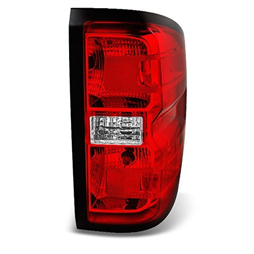 Chevy Silverado 1500 2500 HD 3500 Pickup Truck Red Clear Passenger Right Tail Light (Chevy Silverado 1500 Pickup Tail)