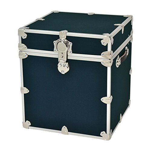 Rhino Trunk and Case Armor Trunk, Cube, Navy Blue - Navy Trunk