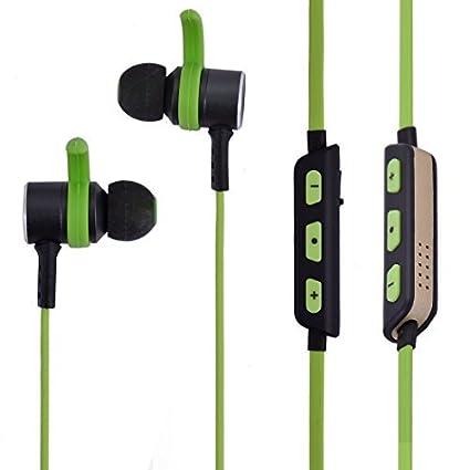 eDealMax Deportes que funcionan Con USB de sonido estéreo Bluetooth de carga en la oreja Los