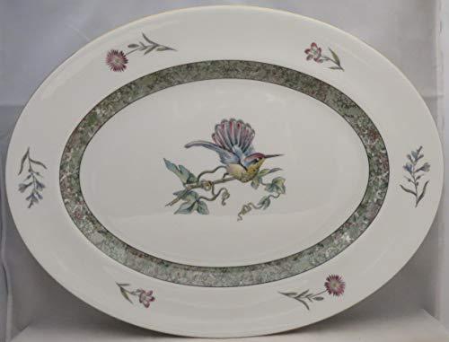 (Wedgwood Humming bird oval dish)