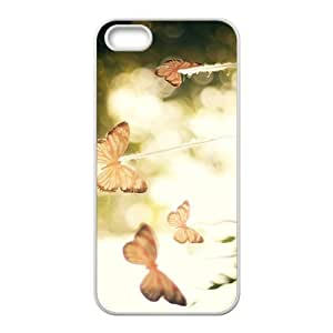 The Beautigul Butterfly Hight Quality Plastic Case for Iphone 5s