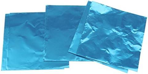 箔紙 約100枚 お菓子 キャンディ チョコレート フォイルラッパー ギフト 包装紙 DIY手作り 工芸品 良い装飾 全10色