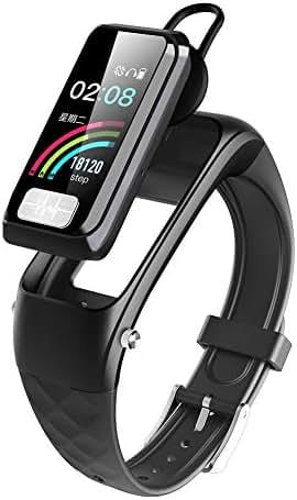 XYZNSH Smart Bluetooth 5.0 Call Bracelet, ECG+PPG Heart Rate Blood Pressure Sleep AI Monitor, Pedometer, 1.14