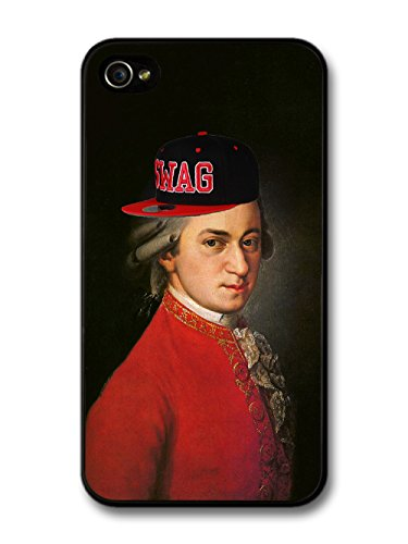 Player Mozart Modern New Swag Style Fashion Classic Vintage B-Boy Funny coque pour iPhone 4 4S