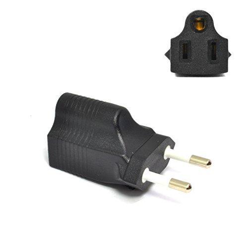 Ceptics Most of Europe CEE 7/16 Travel Power Plug Adapter Ac