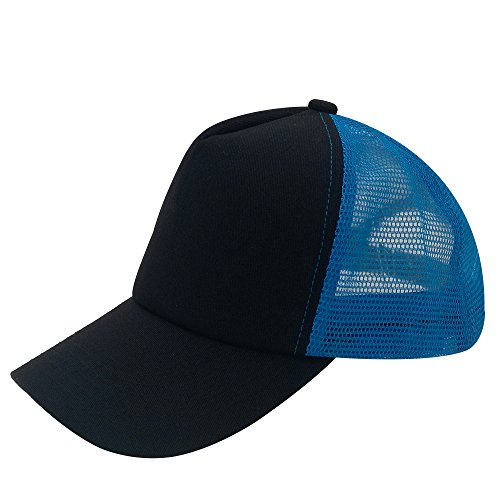 oriental spring - Gorra de béisbol - para hombre Roayl Blue Mesh/Black